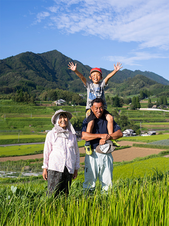 江藤家 家族写真
