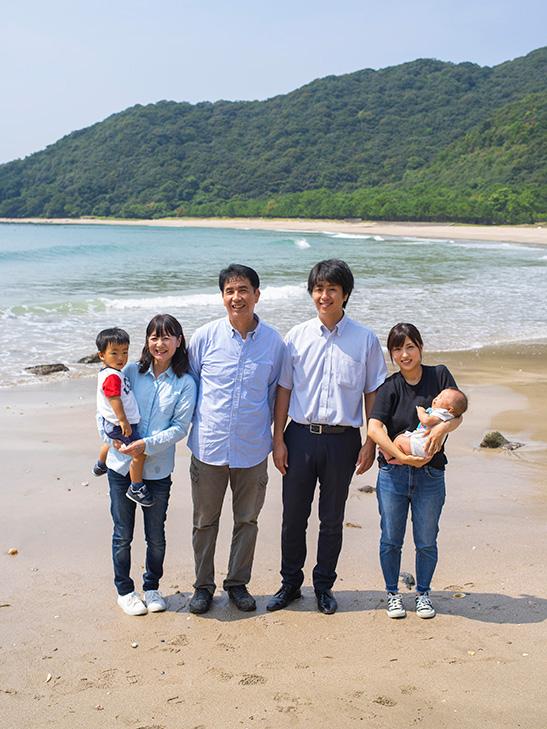 星川家家族写真