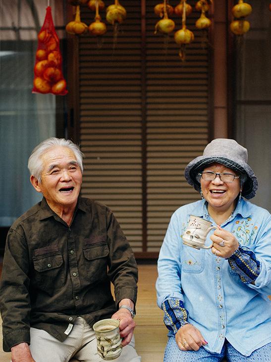 哲さんと幸子さん